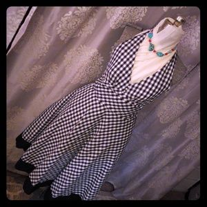 Pin Up style Rockabilly halter dress